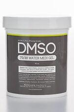 70/30 DMSO & DISTILLED WATER GEL, LOW ODOR PHARMA GRADE 99.995% 1 LB (16oz)