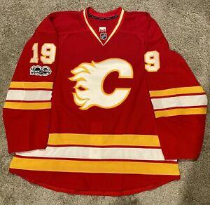 Calgary Flames Reebok Edge 2.0 Size 58+ Third Jersey TI Tkachuk W/NHL 100 Patch!