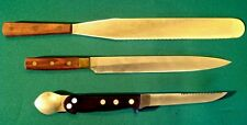 Vintage Cutlery knife Lot - 3 great knives - Rowoco - Alfred Zanger  VERY RARE