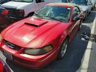 2001 Ford Mustang Convertible GT Premium Convertible 5-Spd Manual Clean Carfax Leather Spoiler Pony Wheels Fully Loaded