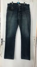 "Blue Faded G Star Raw 3301 Jeans 40"" Waist 34"" -36"" Inside Leg"