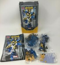 2004 Mega Bloks Marvel Super Tech Heroes Wolverine Construction Figure Toy #1917