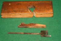 Antique 19th C.  Rabbet Carpenters Woodworking Plane  Inv#JB61A