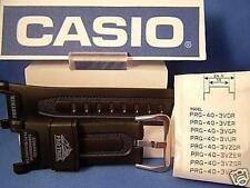 Casio Watch Band PRG-40. Pro Trek Triple Sensor black Rub Strap.Also fits Pag-40