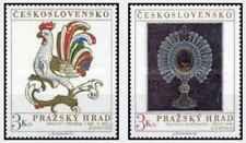 Timbres Arts Tchécoslovaquie 2046/7 ** lot 28737