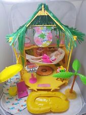 Vintage Barbie Island Fun Hut - Tiki Bar Playset 1987 -  w Barbie and EXTRAS!