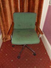 60's /70's Abbess swivel office chair vintage retro