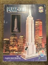 EMPIRE STATE BUILDING New York Puzzle PUZZ-3D  Wrebbit