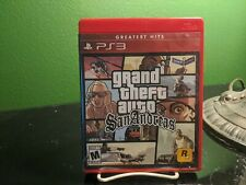 Grand Theft Auto San Andreas Sony PlayStation 3 PS3 Disc With Case Tested