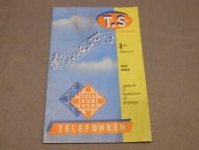 Catalogue TELEFUNKEN – 16 pages