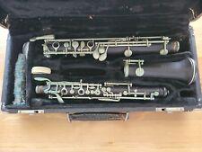 Vintage Rene Dumont Oboe, Serial 3839, w/OHSC Needs Restoration