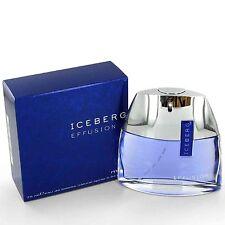 ICEBERG EFFUSION 2.5 OZ EDT SPRAY FOR MEN BY ICEBERG NEW IN A BOX