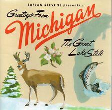 SUFJAN STEVENS - GREETINGS FROM MICHIGAN THE GREAT LAKE STATE CD 2003