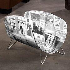 Moderne Contemporain magazine rack JOURNAL DECOR Design Rétro JOURNAL Design