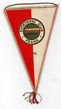 SLAVIA Prague Football (Soccer) Club Pennant 1993, Praha (Prague)