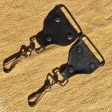 Vtg ACE Style Guitar Banjo Camera Strap Genuine Suede Leather Ends