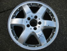 1 Single Genuine Benz 17X8.5 ET52 rim for ML Class in good used condition