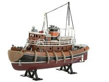 Revell Harbour Tug Boat Model Kit, Beautifully detailed deck and bridge