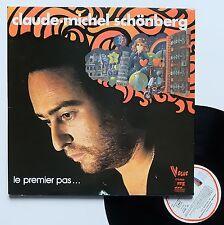 """Vinyle 33T Claude Michel Schonberg  """"Le premier pas... """""""