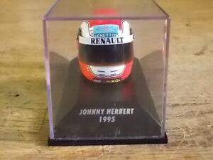 MINICHAMPS Johnny Herbert 1995 F1 Helmet 1:8 Scale - (Kyosho FX-35 Upgrade)