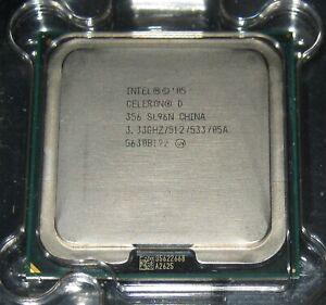 Intel Celeron D 356 1x 3,33GHz 512K CACHE 533MHz FSB Sockel 775 SL96N TOP