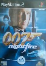 James Bond 007 Nightfire Sony PlayStation 2 2002 PS2 (51258AC)