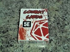 5E Combat Cards Dungeons & Dragons D & D Next 5th Edition Crit Games New!