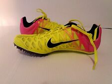 Nike Zoom Maxcat Track and Field Spikes Volt Pink SZ 9.5 ( 549150-999 )