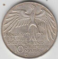 Coin 1972 Deutsches Bundes Republik Germany Munich Olympics 10 mark silver