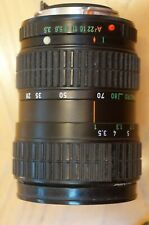 PENTAX A 28 -80mm f/1:3.5-4.5 Lens For Pentax Price Reduced