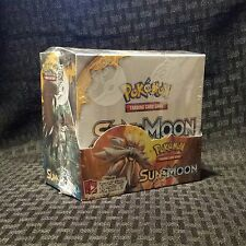 POKEMON SUN & MOON Sealed Booster Box Pokemon TCG Booster Packs (36 packs)