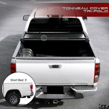 """For 2016-2020 Toyota Tacoma With 5' Ft 60"""" Short Bed Tri-Fold Soft Tonneau Cover"""