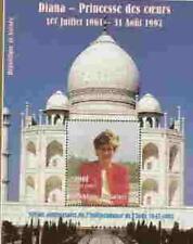 PRINCESS DI - Memorial  Stamp Sheet - Guinea