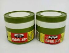 Thermos Snak Jars Insulated Containers Model #1155/3 King-Seeley Lot of 2