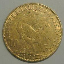 10 FRANCS OR  TYPE COQ 1906  petit prix !