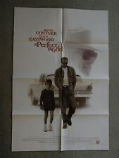 A Perfect World Kevin Costner & Clint Eastwood movie poster 1993 27X41