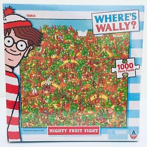 Where's Wally? - Mighty Fruit Fight 1000 Piece Jigsaw Puzzle, brand new/sealed