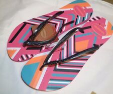 Brazil HAVAIANAS Shocking PINK  US 11/12 Flip Flops Thongs 4115842