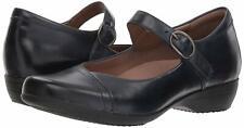 Women's Dansko Clogs Mary Jane Fawna Navy Leather