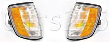 MERCEDES E-Class W124 Facelift Corner Light PAIR LEFT+RIGHT LH+RH 93-95