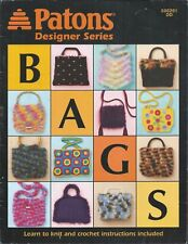 Learn To Knit & Crochet Paton Designer Series Patterns ~ #500201 Dd