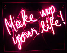 """MAKE UP YOUR LIFE Bed HULK Home Bed Light Music POSTER NEON LIGHT SIGN 18""""X14"""""""