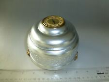 Rare Reuge Music Box Clock Antique Swiss Musical Powder Case Clock(Watch Video)