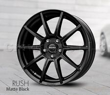 MOMO Car Wheel Rim 16 x 7 Rush - Black - 5 x 114.3 - RU70651442B