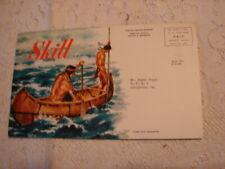 1954 Skill PONTIAC Deer in the Water Fisher Motors Lehighton, Pa Station Wagon