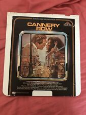 ced video disc movie Cannery Row