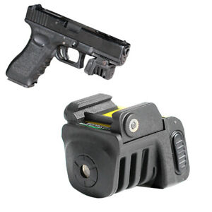 Subcompact Laser Sight USB Rechargeable Built-in Battery for Glock Taurus Pistol