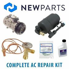 For Mercedes 560SL 1986-1989 AC A/C Repair Kit w/ OE DENSO Compressor & Clutch