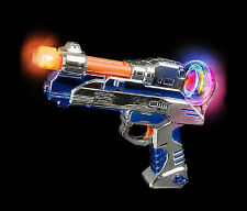 Mozlly LED Laser Blaster Gun with Sounds Kids Light Up Toy