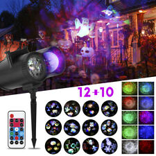 Halloween Xmas LED Laser Licht Projektor Party Lichteffekt Gartenlicht Außen Neu